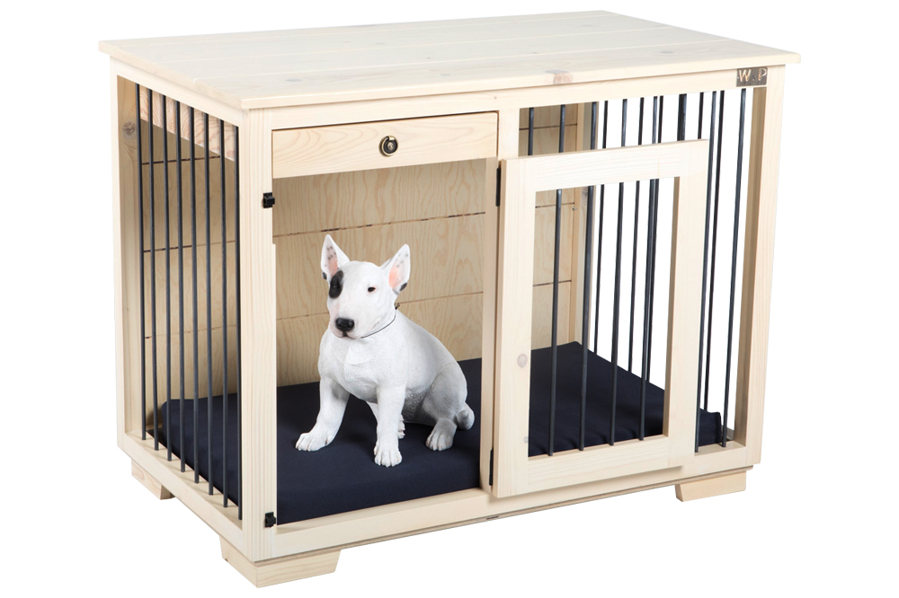 Wooden Kennels Amp Crates Dog Kennel With Drawer Zahra